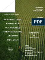 Ensuring Land Rights for Vulnerable
