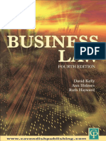 Bussiness Law-Forth Edition