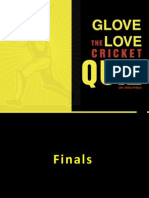 Cricket Quiz Finals