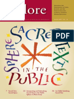 Explore Sacred Books in Public