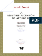 La Resistible Ascension de Arturo Ui