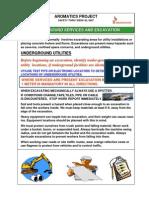 Week 20 Underground Services and Excavation