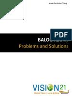 7449Balochistan Problems Solutions