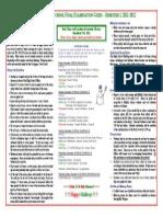 SAS PD HS Final Exam Guide Schedule Dec 2011