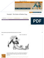 Patanjali - The Father of Modern Yoga