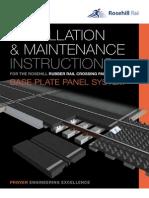 Rosehill Base Plate Installation Maintenance