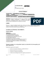 Plan de Trabajo Fcontables Octavos II Per 2014
