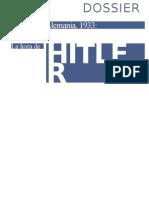 David Solar - Revista La Aventura de la Historia, Dossier 52 - Alemania 1933, la hora de Hitler.doc