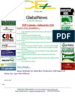 25th July,2014 Daily Exclusive ORYZA E-Newsletter by Riceplus Magazine