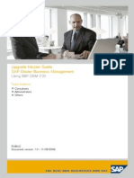 SAP DBM 7 Upgrade Guide