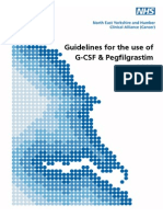Guidlines for the Use of Filgrastim