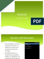 06 - Celulares - Codigos de Servicio Android