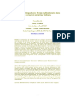 Stratégies et impacts des firmes multinationales dans le secteur du ciment au Vietnam
