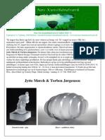 Tuse Næs Kunsthåndværk 6 - GlasKUNSTudstilling 9.08 - 19.09 Mørch & Jørgensen 2014