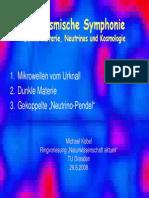Die Kosmische Symphonie Dunkle Materie, Neutrinos Und Kosmologie
