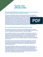DNS-Forschung Und Die Feinstoffliche DNS