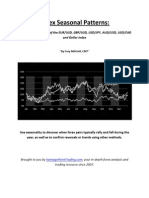 Forex Seasonal Patterns EBook1