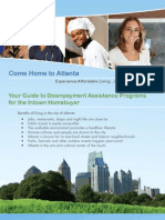 Your Guide To Atlanta Downpayment Assitance Programs for the Intown Buyer