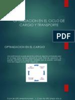 Optimizacion en El Ciclo de Cargio y Transporte