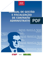 Manual de Gestão e Fiscalização de Contratos Administrativos COMPLETO