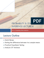Probability and Statstical Inference 6