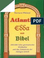 Hermann Wieland Atlantis Edda Und Bibel