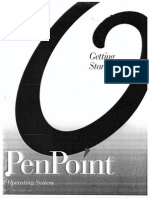 PenPoint92g Getting Started With PenPoint Version 1.0
