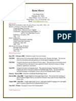 ryan moore resume pdf