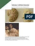How Alois Alzheimer Redefined Dementia