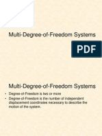01 CE225 Multi-Degree of Freedom Systems