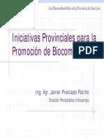 Bioenergia Legislación Provincial J Patiño