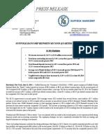 Suffolk Bancorp Q2 2014 Earnings Release