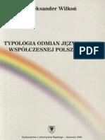 Typologia Odmian Jezykowych Wyd 2