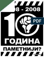 Hronologija Dogadjaja-kratka Istorija Otpora
