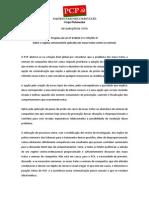 Declaração de Voto PCP