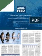 Mycotoxins in Aquaculture feeds