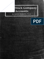 Joint Stock Company Accounts
