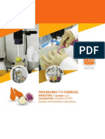 Procedures for chemical analysis of potato and sweetpotato samples at CIP's Quality and Nutrition Laboratory