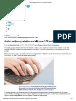 4 Alternativas Gratuitas Ao Microsoft Word _ Pplware
