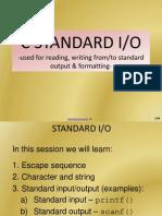 c Programming Standard i o Print Fs Can f