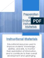 instructional materials for english
