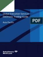BAML - Electronic Trading Guide