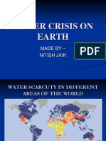 Water Crisis on Earth