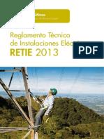 RETIE 2013 - Folleto MinMinas