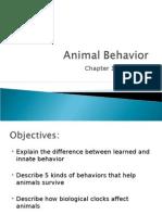 Animal Behavior Ch 14.2 7th