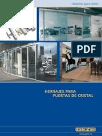 Catalogo Herrajes Para Puertas de Cristal