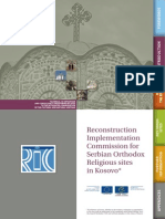 RIC for Serbian Orthodox Religious Sites in Kosovo