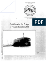 PIANC WG33 - Guidelines for the Design of Fender Systems