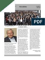 newsletter juli 2014