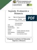 EIS TPII SegundaEvaluacionDistancia 2012 I
